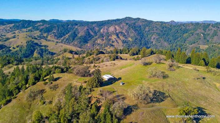 Aerial View of Longview Ranch
