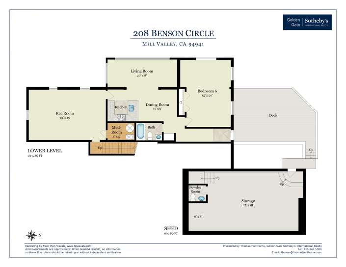 Floorplan Lower Level