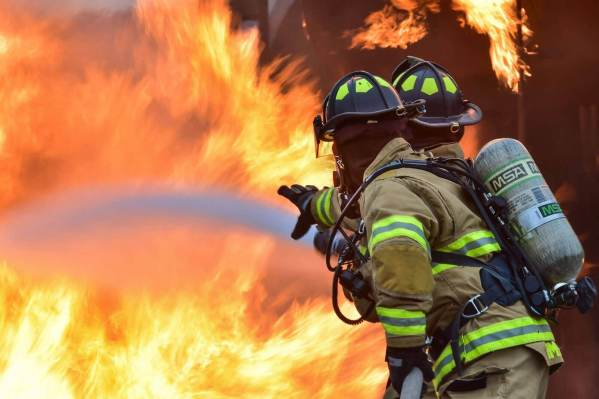 Firemen fighting fire for Homeowners in Marin County article