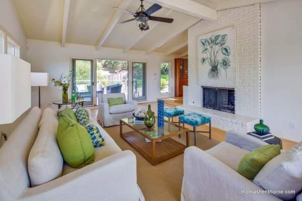 11 Underhill Road Mill Valley Living room