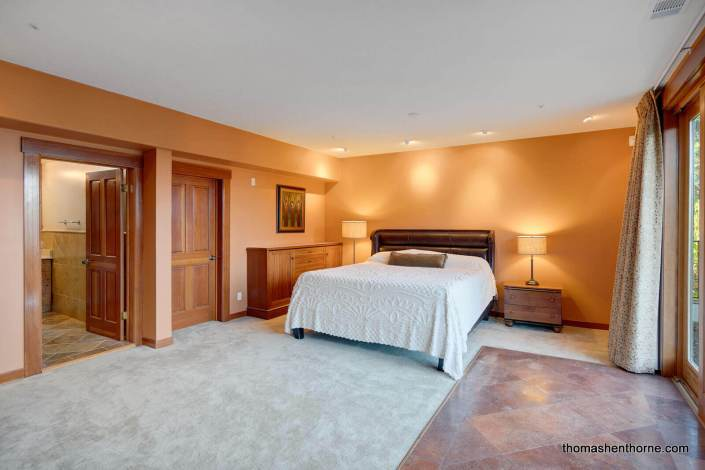 master bedroom with bed