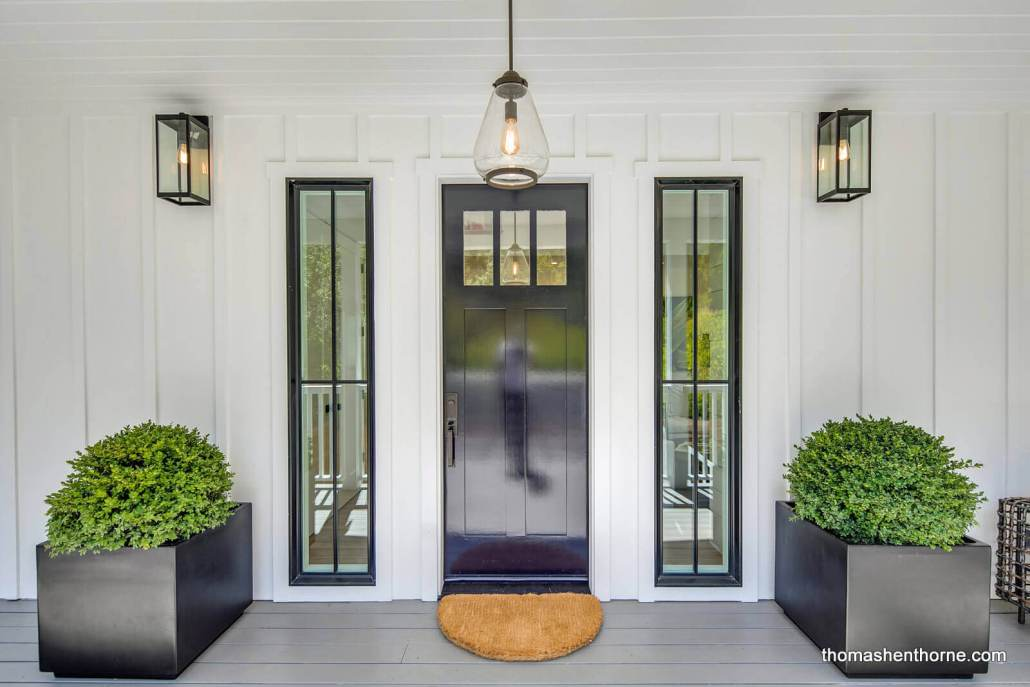 Front Door to Modern Farmhouse