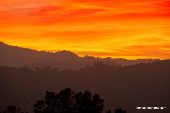 Marin County sunset