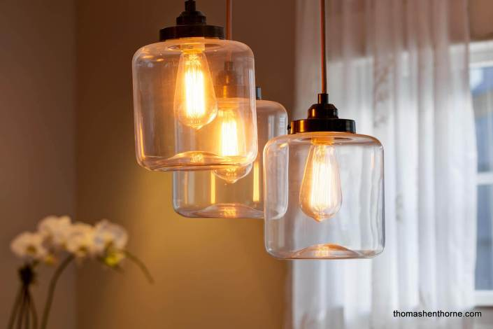 Edison bulb fixture