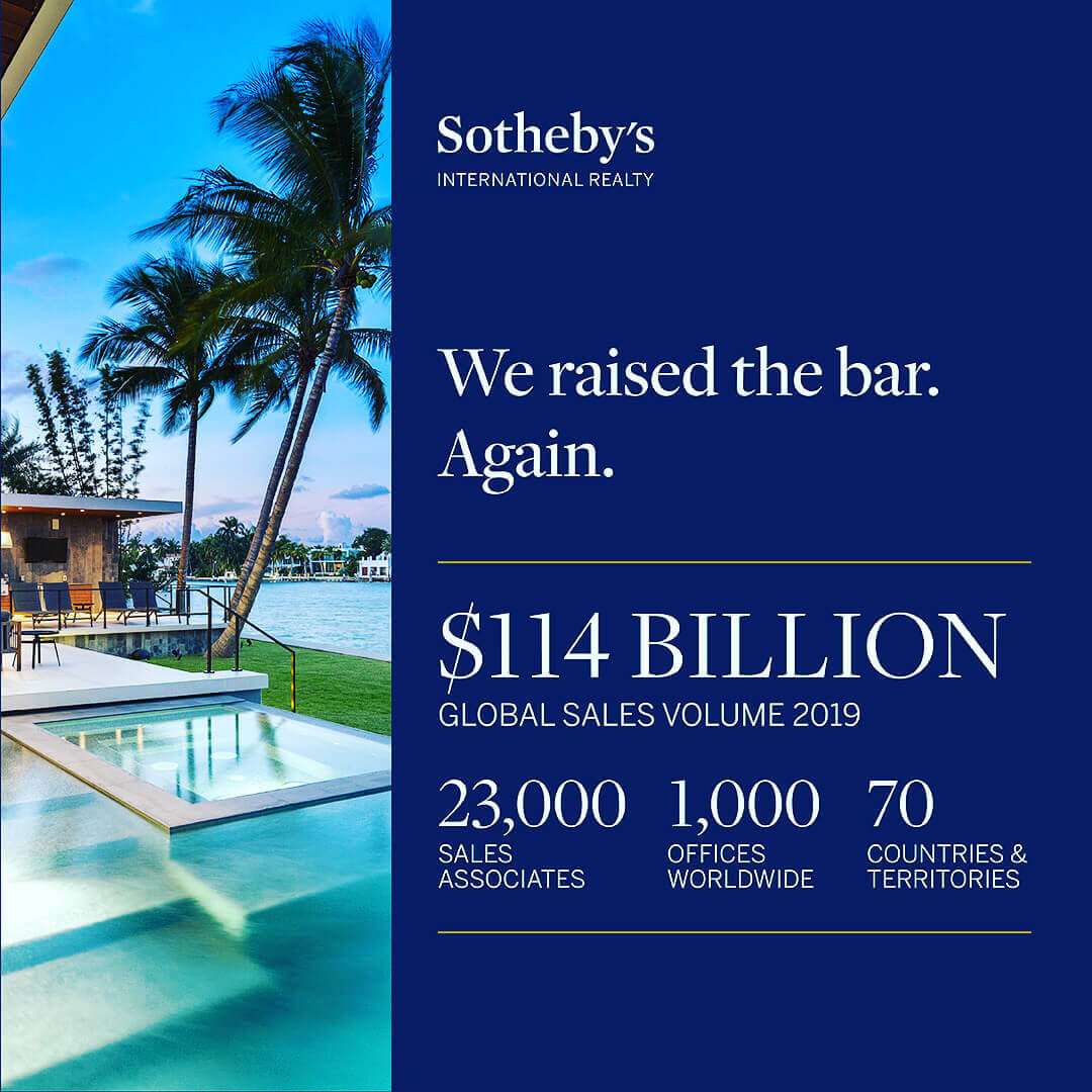 Infographic Sotheby's International Realty volume 2019