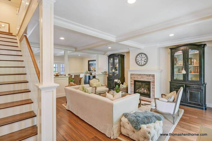 Open concept family room