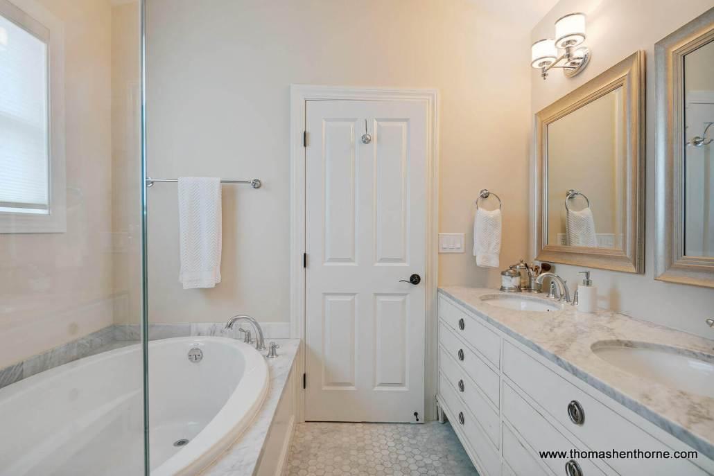 Master Bathroom with soaking tub