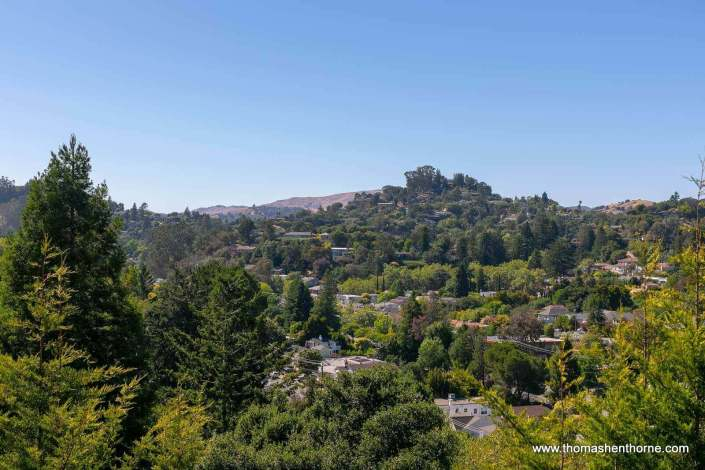 view of san rafael hills