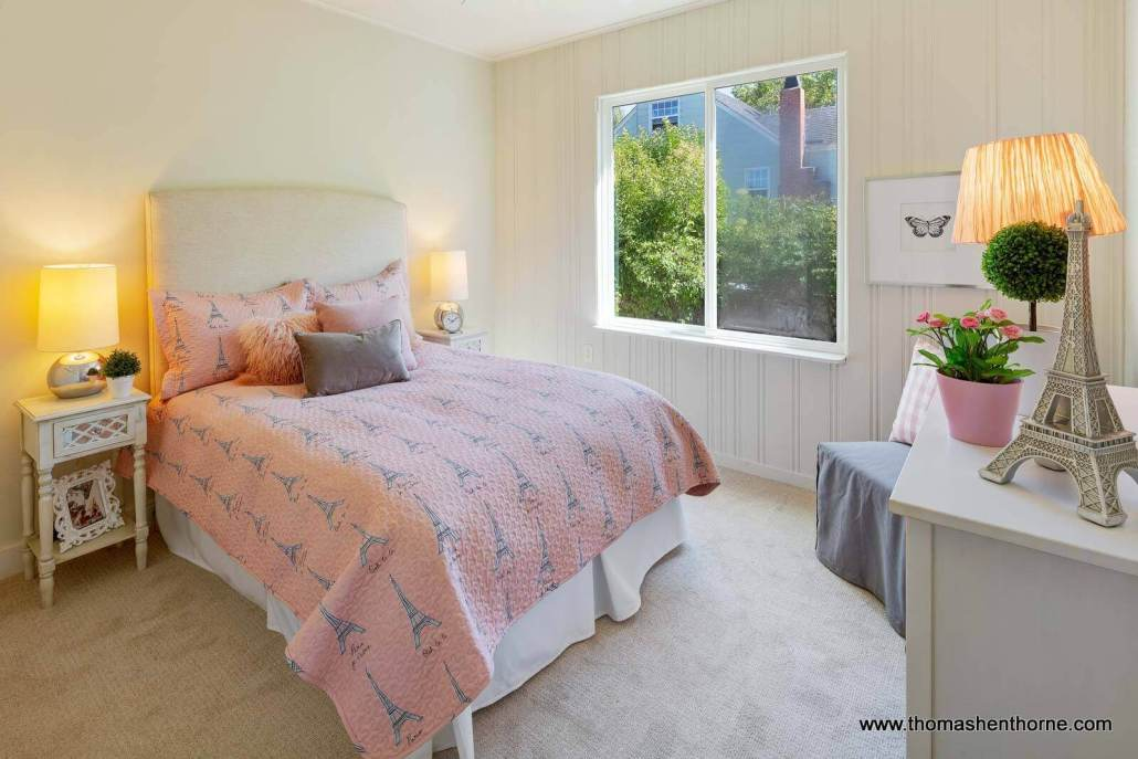 bedroom with french motif