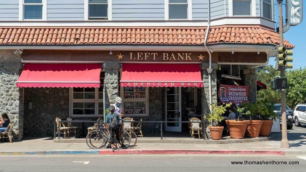 Left Bank in Larkspur, California