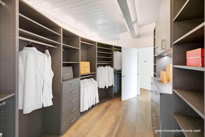 Luxury home master closet