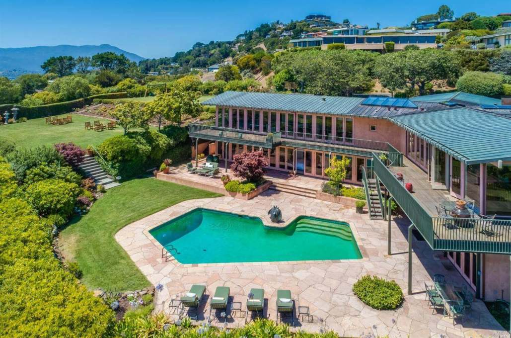 134 Lyford Drive Tiburon sold in 2020 Marin County