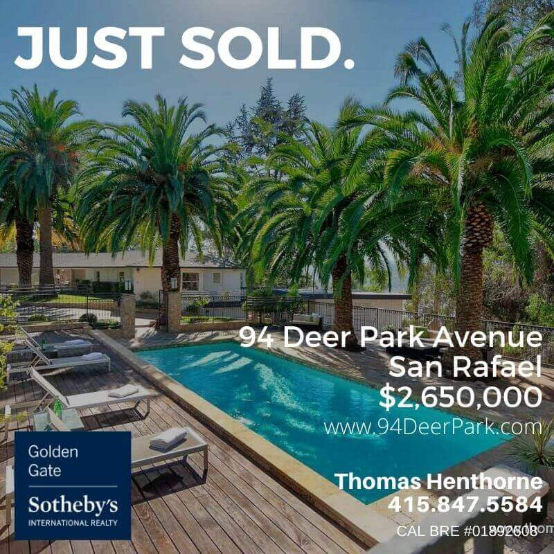 just sold 94 deer park avenue san rafael