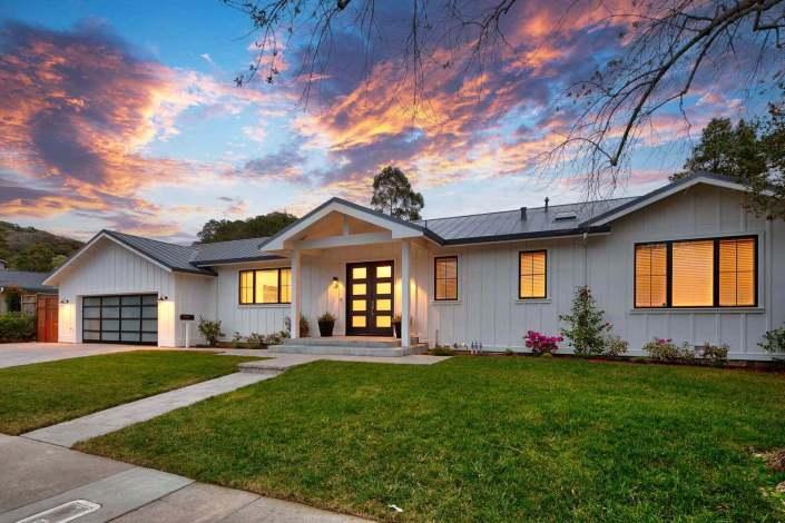 12 Castlewood Drive San Rafael front exterior