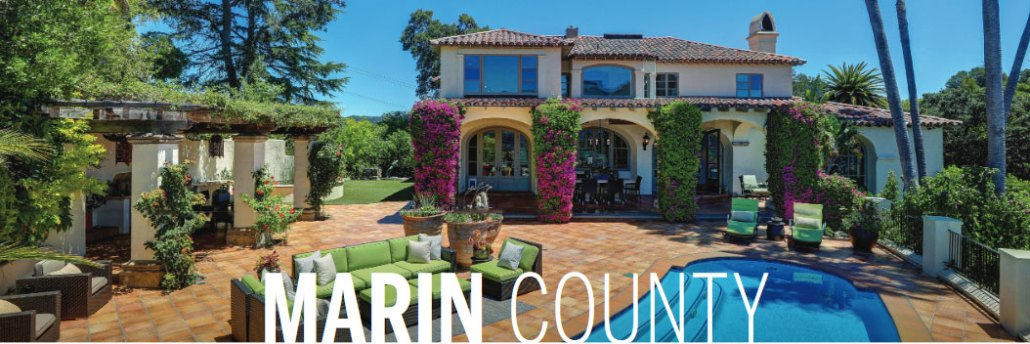 Banner Marin County home prices