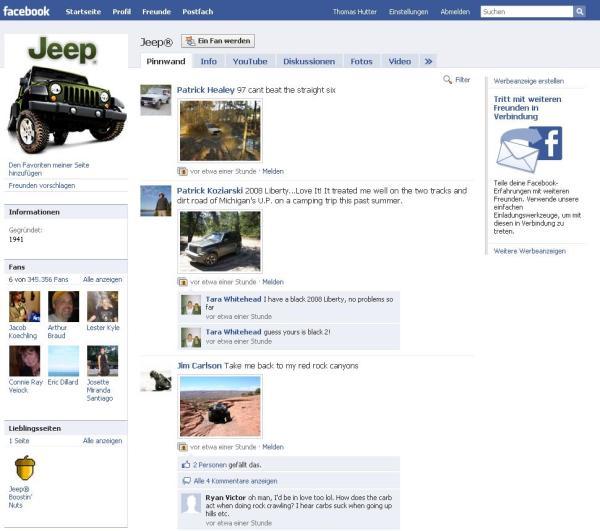 Jeep Facebook Fanpage