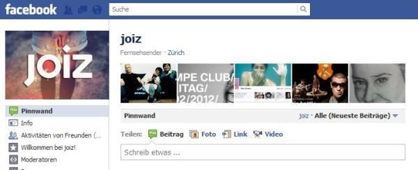 Joiz auf Facebook