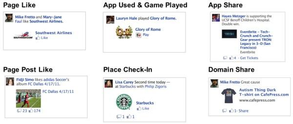 Die verschiedenen Facebook Story Ads in der Übersicht