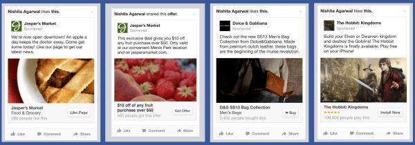 "Facebook Ads werden im ""Look & Feel"" verbessert (Quelle: Facebook)"