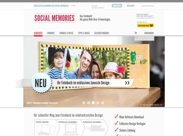 socialmemories.com von Deutsche Post DHL