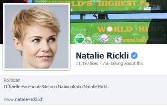 Beispiel einer verifizierten Facebook Seite