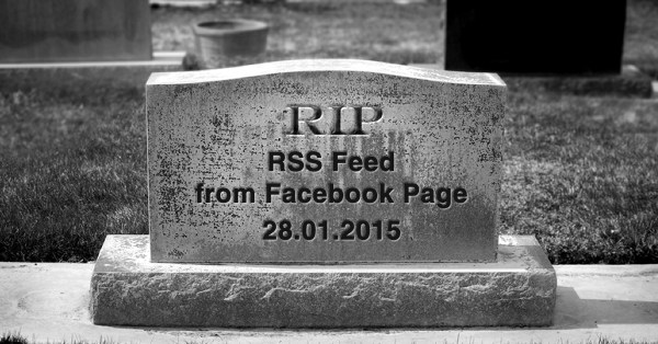 RIP RSS Feed - Copyrigh by shutterstock.com