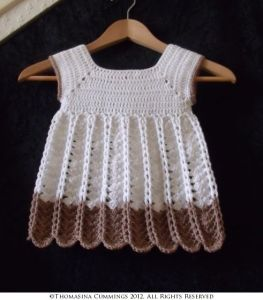 Chains and Shells Pinafore Dress
