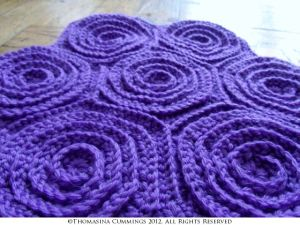 Hexagon Spiral Crochet Motif