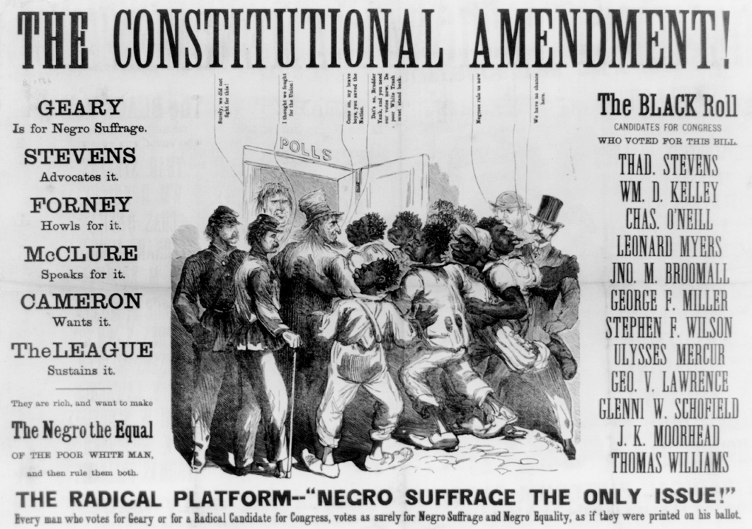 Image result for civil rights 1866