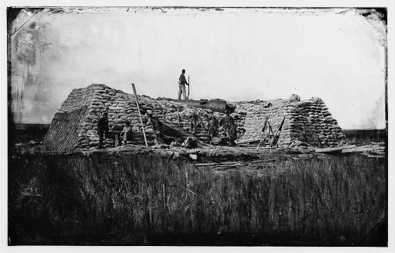 Image result for 1863 Confederates evacuate Battery Wagner and Morris Island, South Carolina
