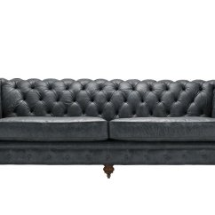 Chesterfield Sofa Modern King Hickory Fabrics Black Leather Sofas And