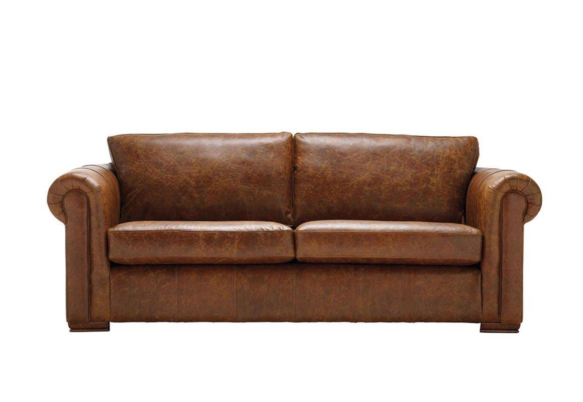 Aspen 3 Seater Leather Sofa