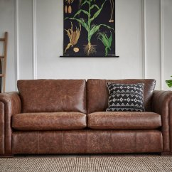 Brown Color Leather Sofa Storage Sofas India 025 Thomas Lloyd