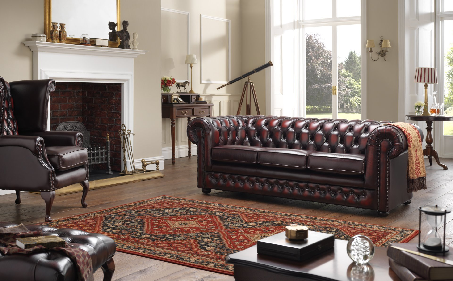 best sofas on the high street t cushion sofa chesterfield 3 seater leather in a traditional living