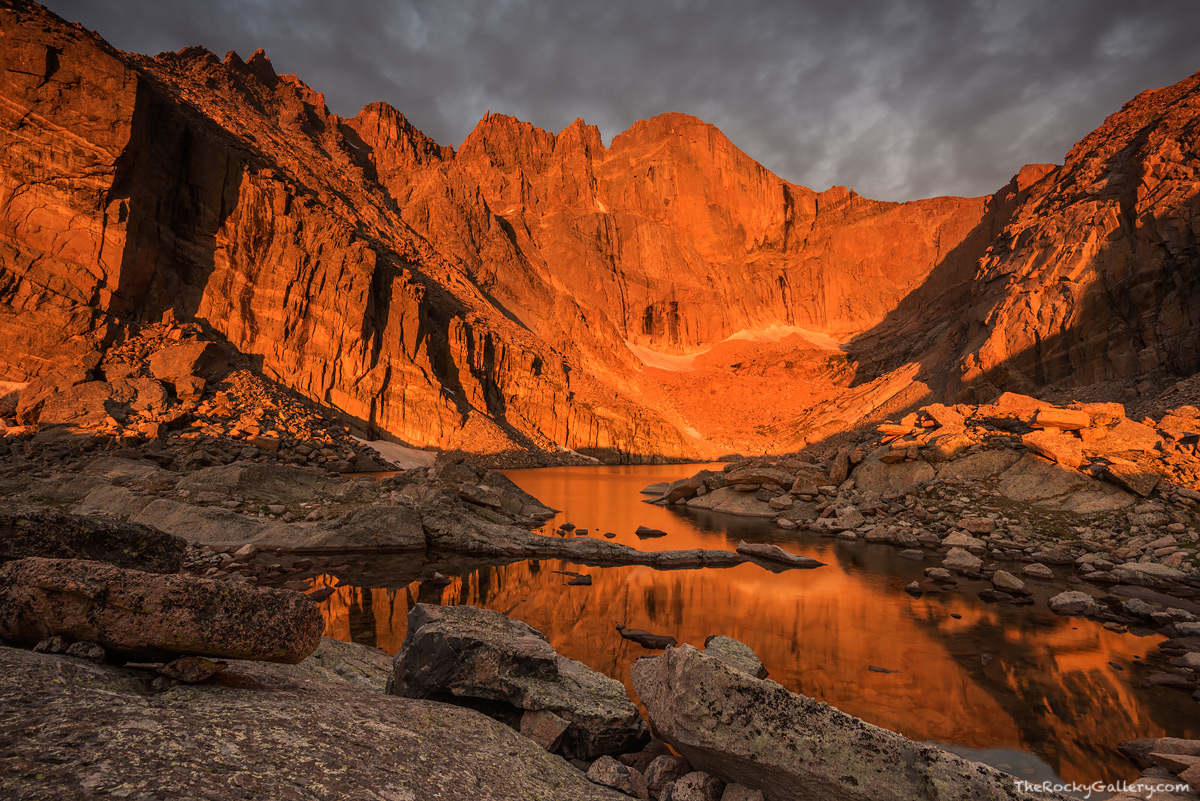 Longs Peak And Vicinity  Rocky Mountain National Park