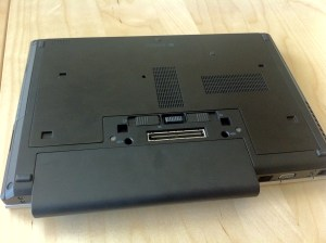 HP Elitebook 8460w Bottom
