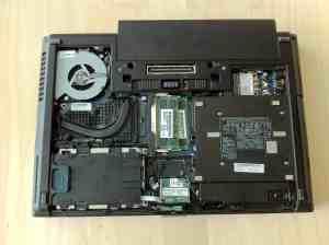 HP Elitebook 8460w Internals