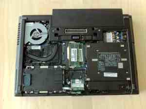 HP Elitebook 8460w Internals