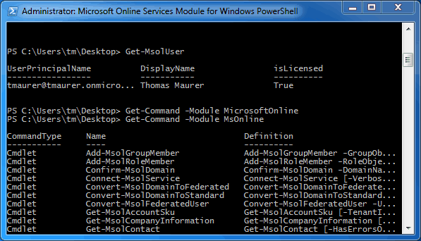Office 365 U2013 How To Connect With Powershell