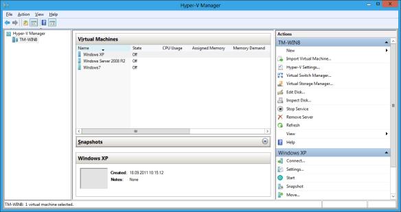 Windows 8 Client Hyper-V