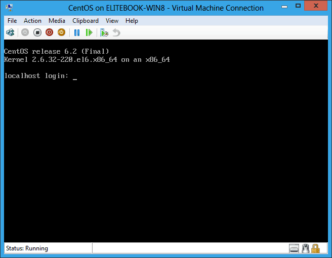 Install CentOS on Windows 8 Hyper-V | Thomas Maurer
