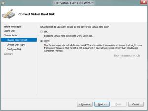 Convert VHD to VHDX