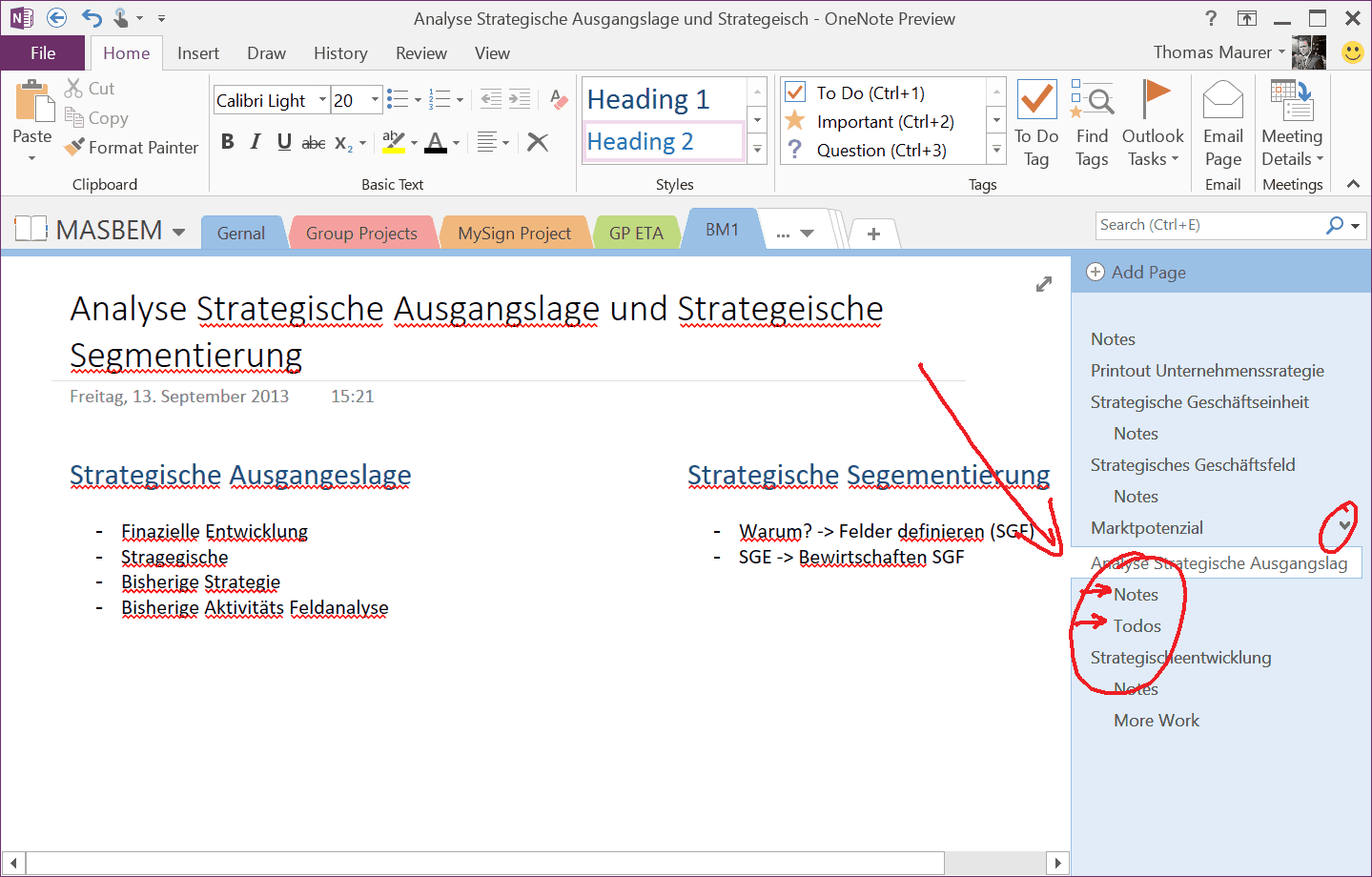 This is why OneNote is awesome  Thomas Maurer