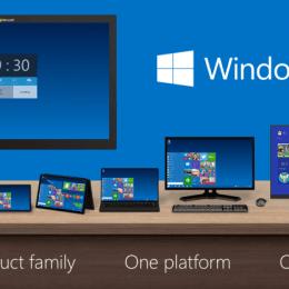 Windows 10 Product Familiy