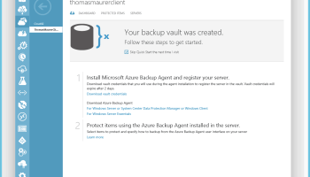 Download the Azure Backup Agent - Thomas Maurer