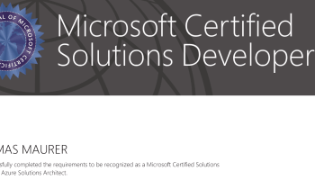 Why you should become Microsoft Azure Certified - Thomas Maurer