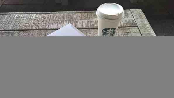 Surface 3 Starbucks