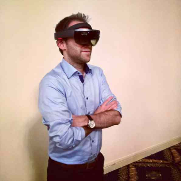 Thomas Maurer HoloLens