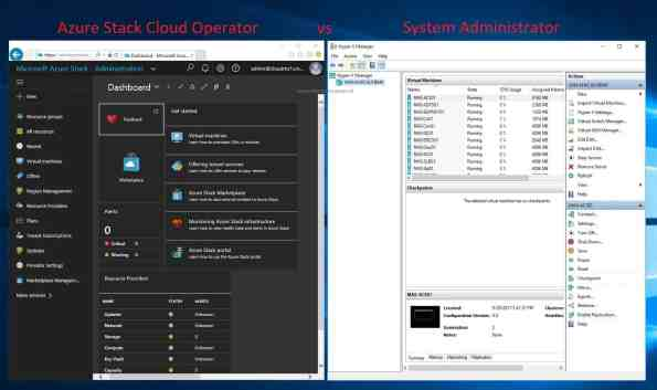 Azure Stack Administration and Operation