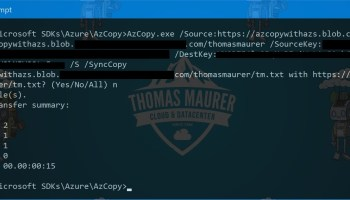 How to Install AzCopy for Azure Storage - Thomas Maurer